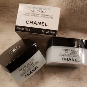 Chanel Hydra Beauty gel cream jars